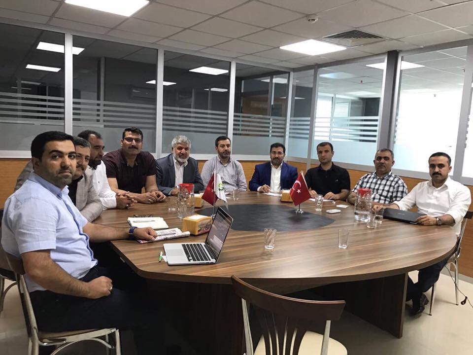 Haksiad Yönetim Kurulu Diyarbakır ve İstanbul'da Bölge İşadamlarıyla buluştu.